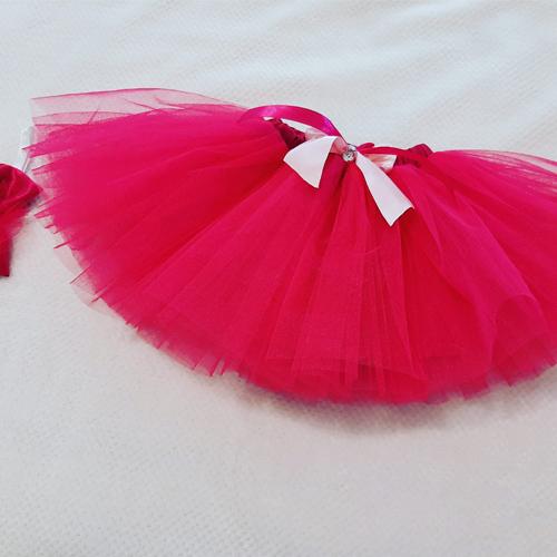 Cerise Pink Tutu Skirt