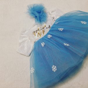 Miss party velvet and tulle dress