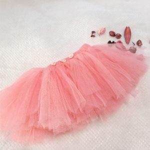 Peach Tutu Skirt